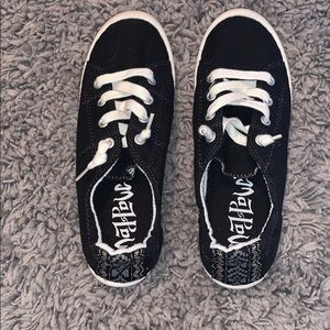 Black Mad Love shoes